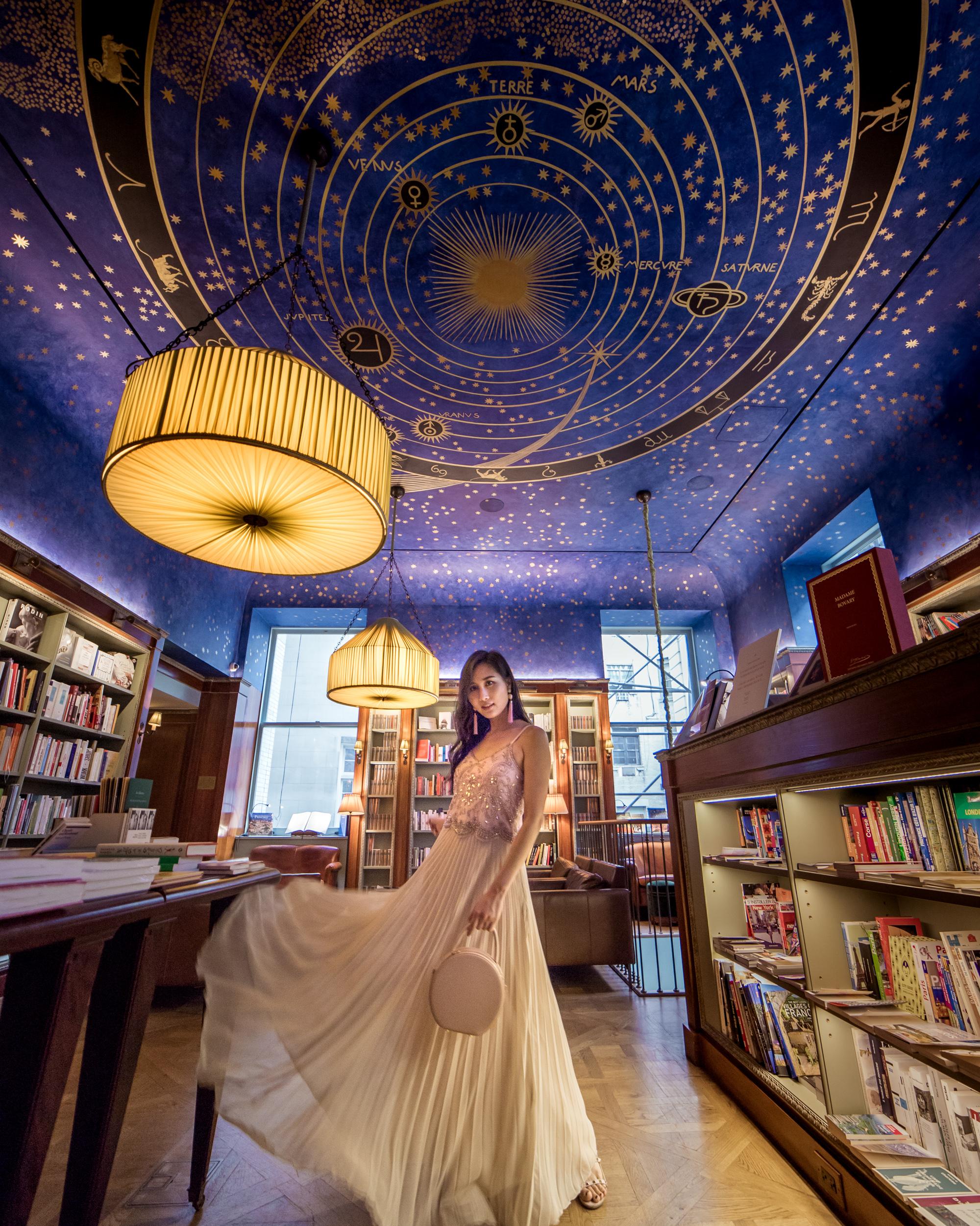 Albertine Book store. Photo by Tina from  @ofleatherandlace