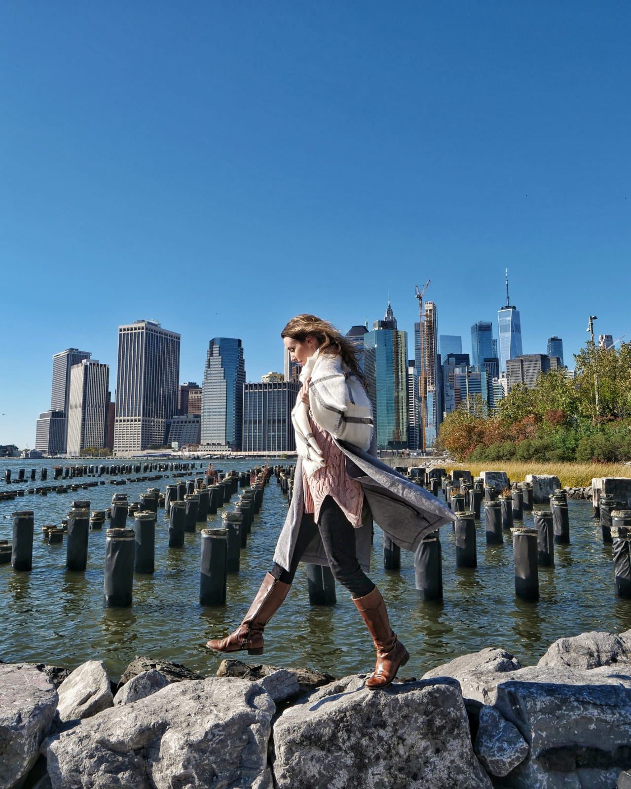 The view from Brooklyn Bridge Park. Photo by Sarah Funk