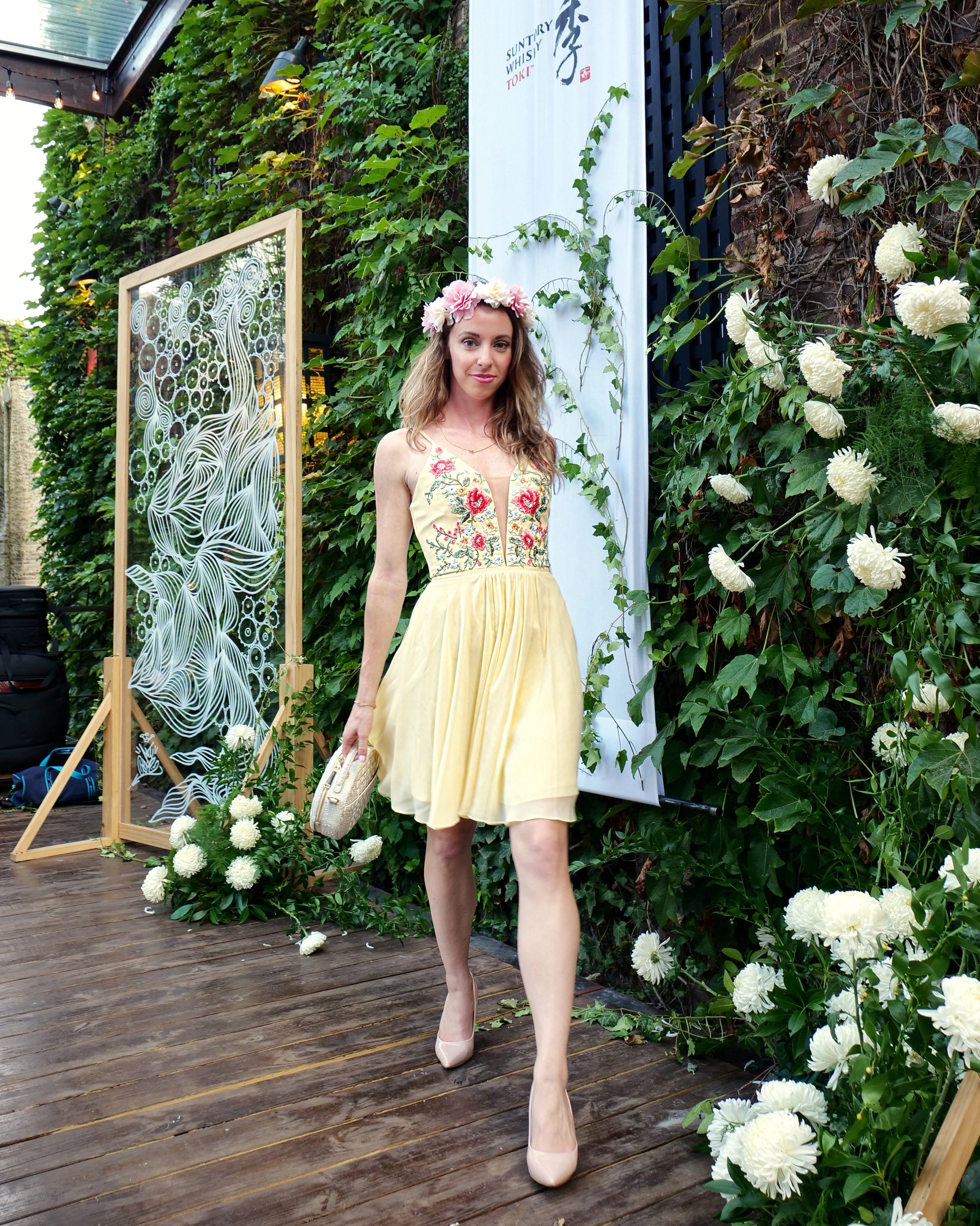 My outfit for  Secret Summer  in 2018 was focused on flowers to bring out the garden vibe of the event!