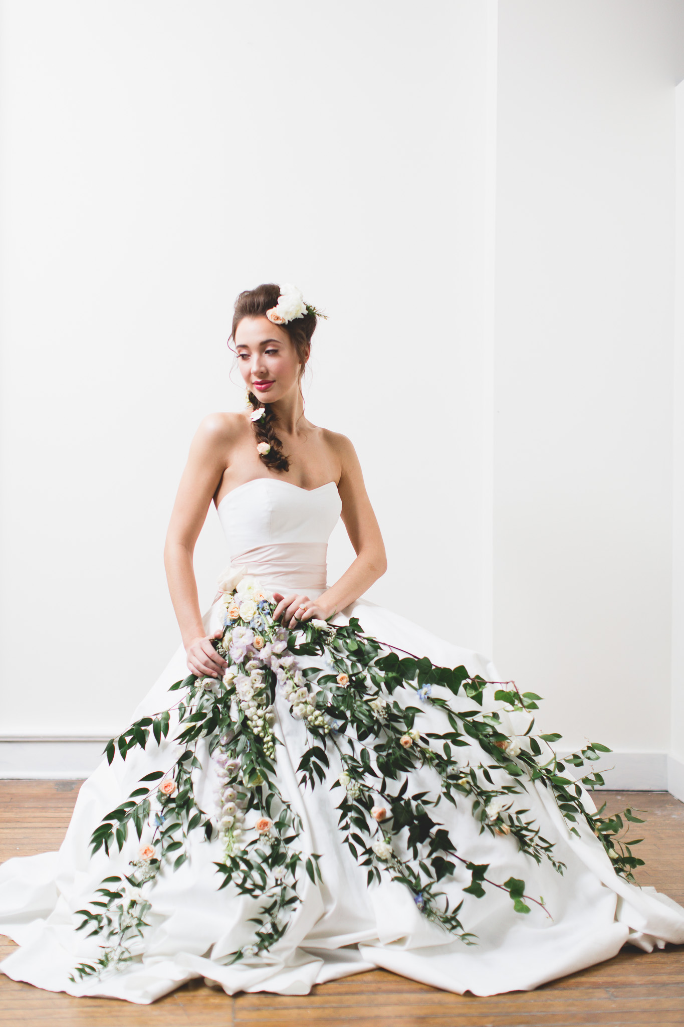 Floral Accoutrements with Presh Floral The Handmade Bride Flagship Launch with Toast Events