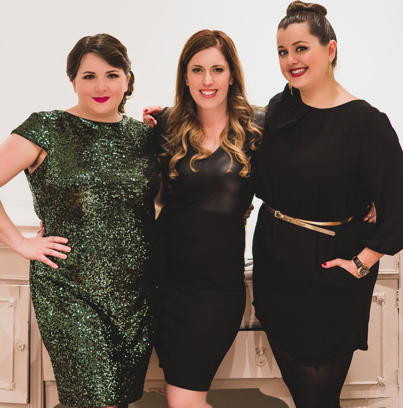 Meaghan Brunetti, Elise Schmitz & Jenna Brunetti, The Handmade Bride Launch Party