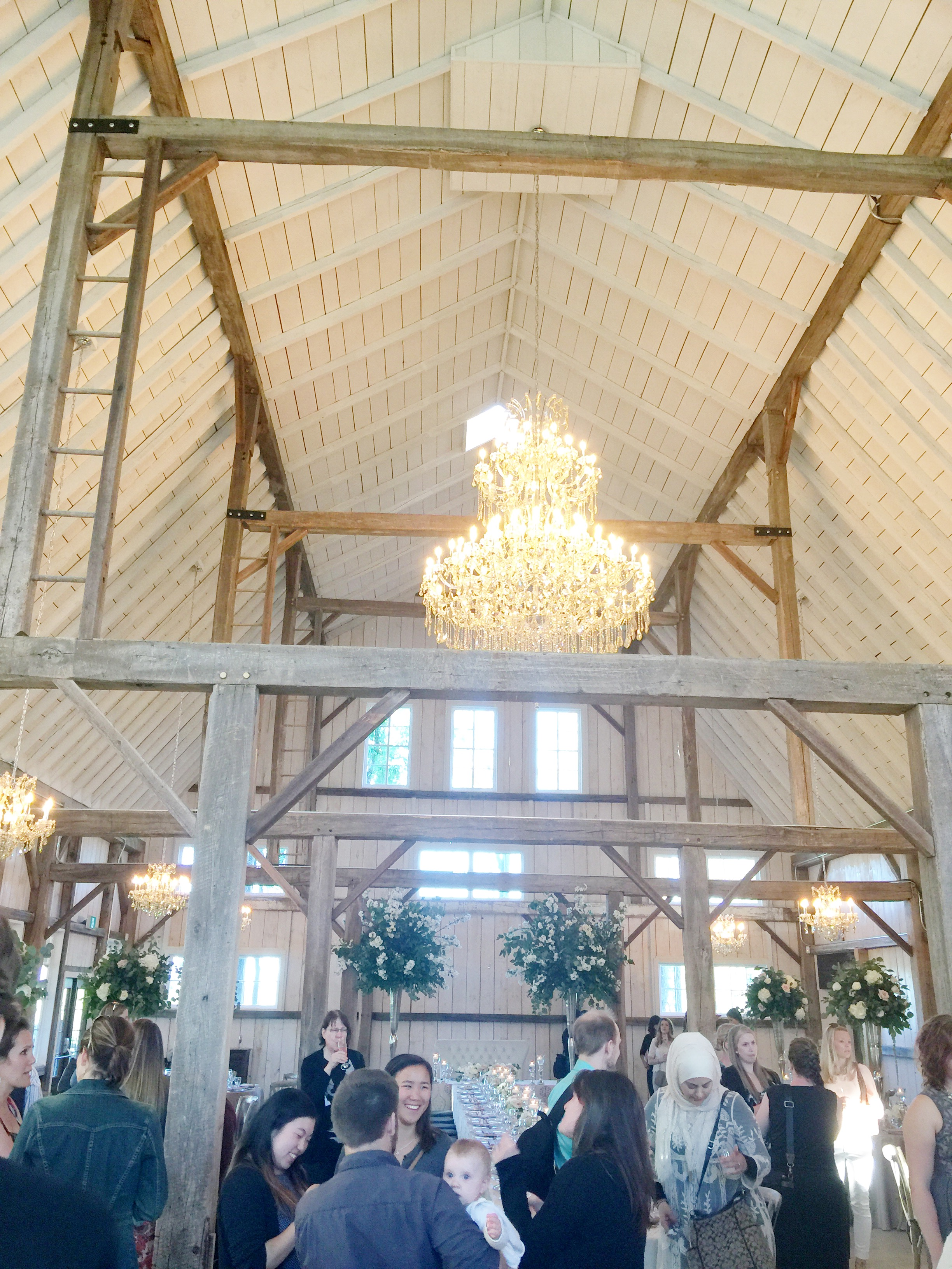 Toast Events & Stonefields Parisian Style Barn