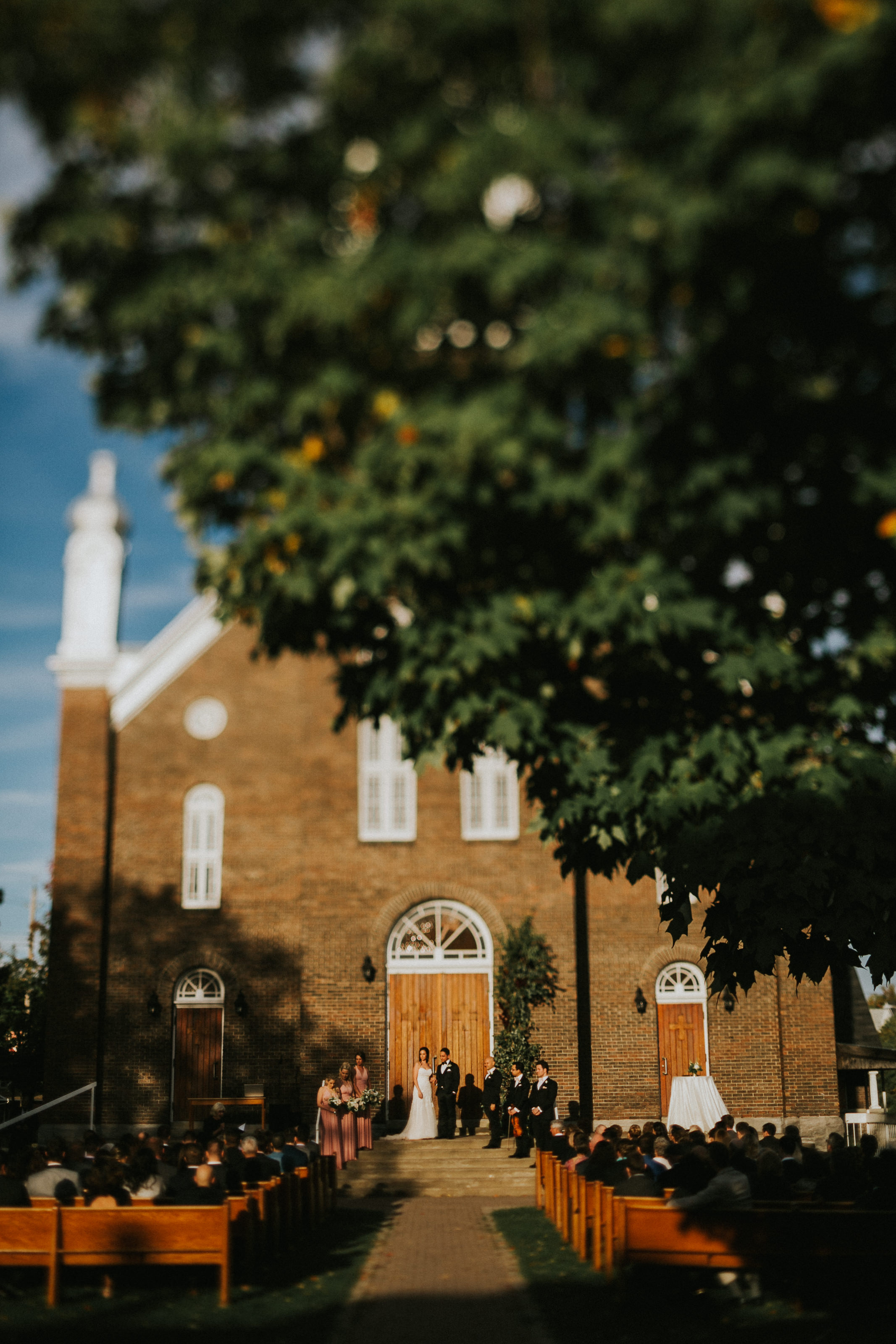 Reclaimed ottawa church wedding planning Toast Events