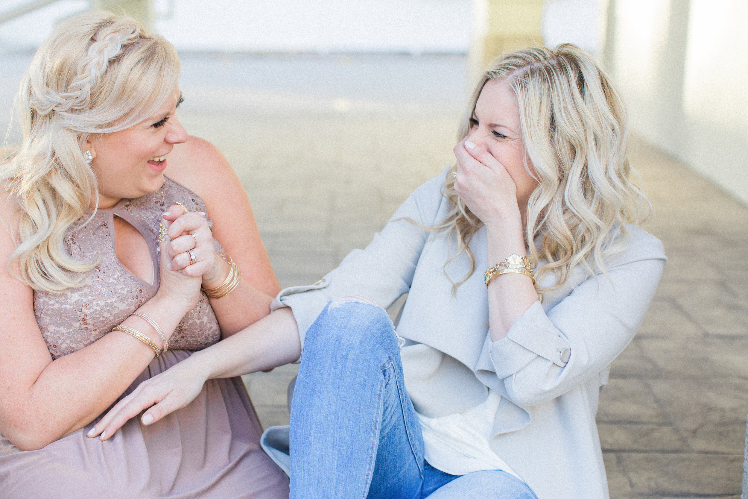 Elise Schmitz and Laura Kelly Elevate Retreat