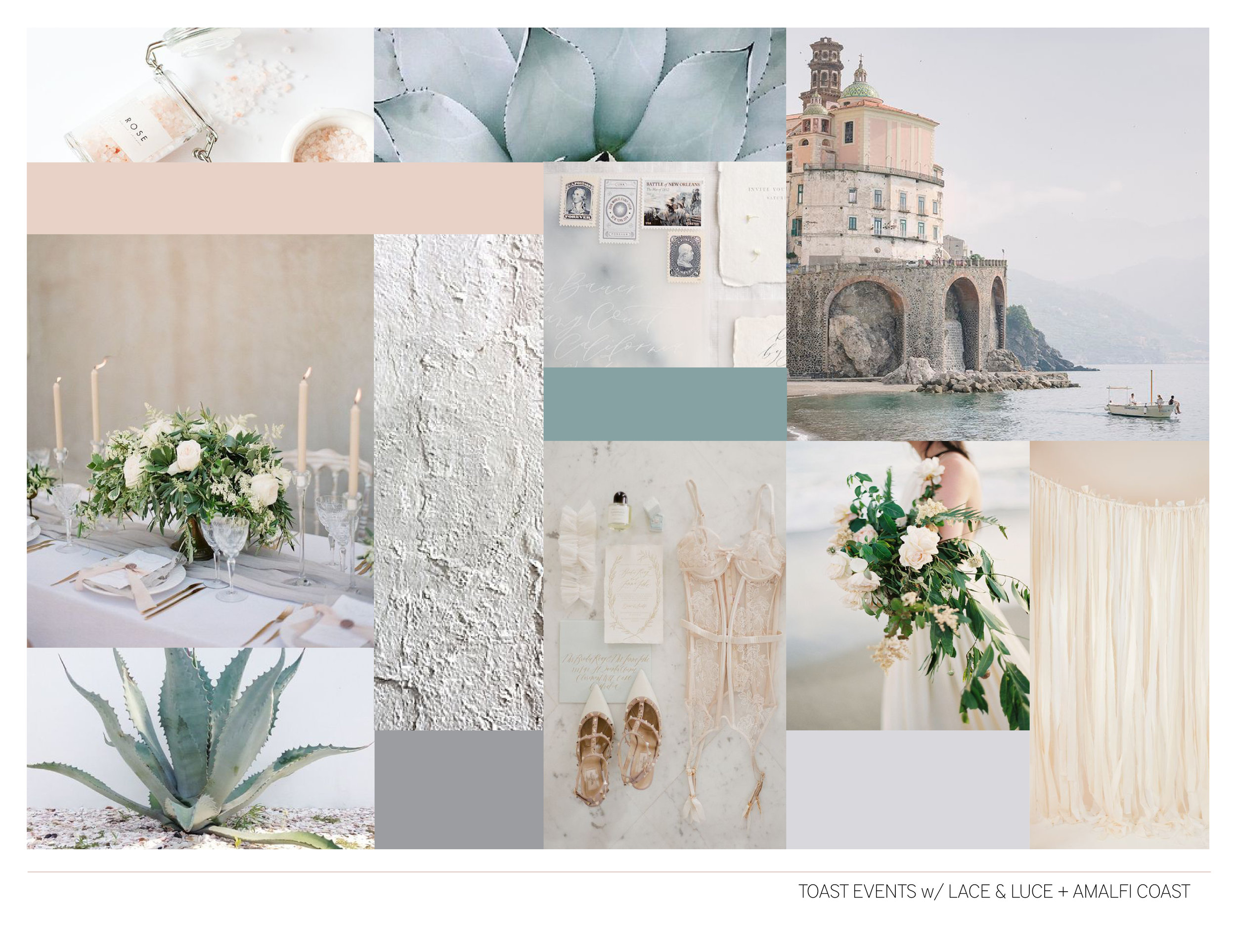DESIGN PROFILE CREATED FOR 2017 EDITORIAL SHOOT IN ITALY, ALMAFI COAST