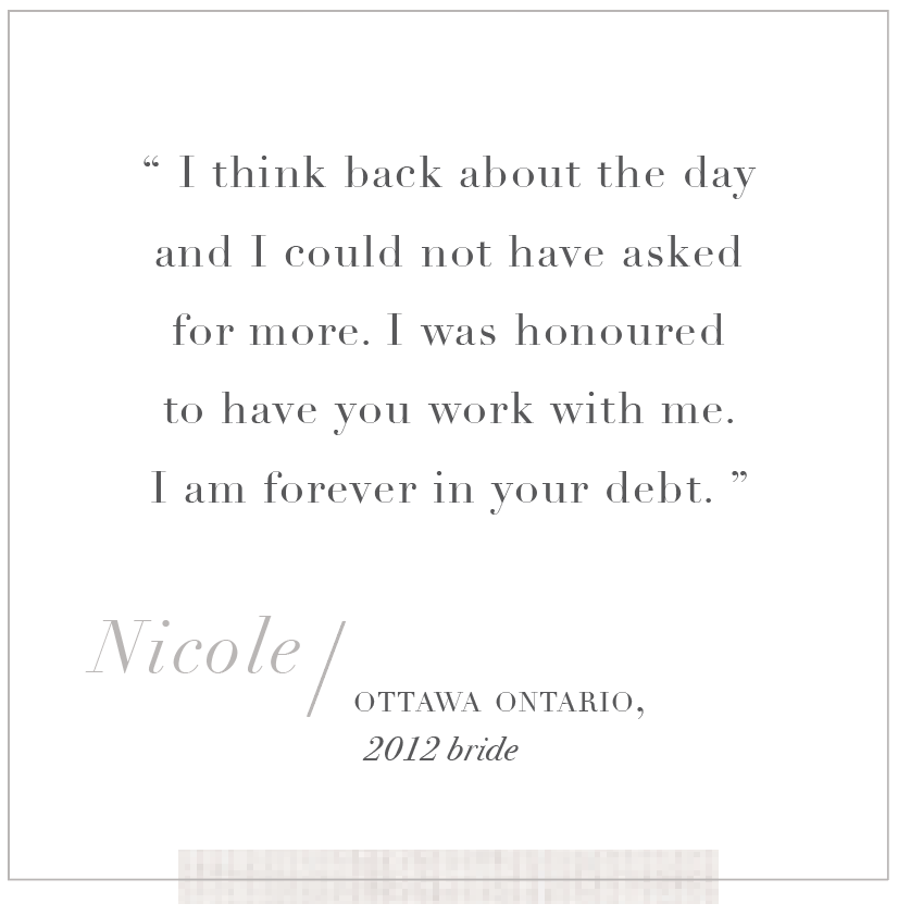 Ottawa Wedding Planner Toast Events