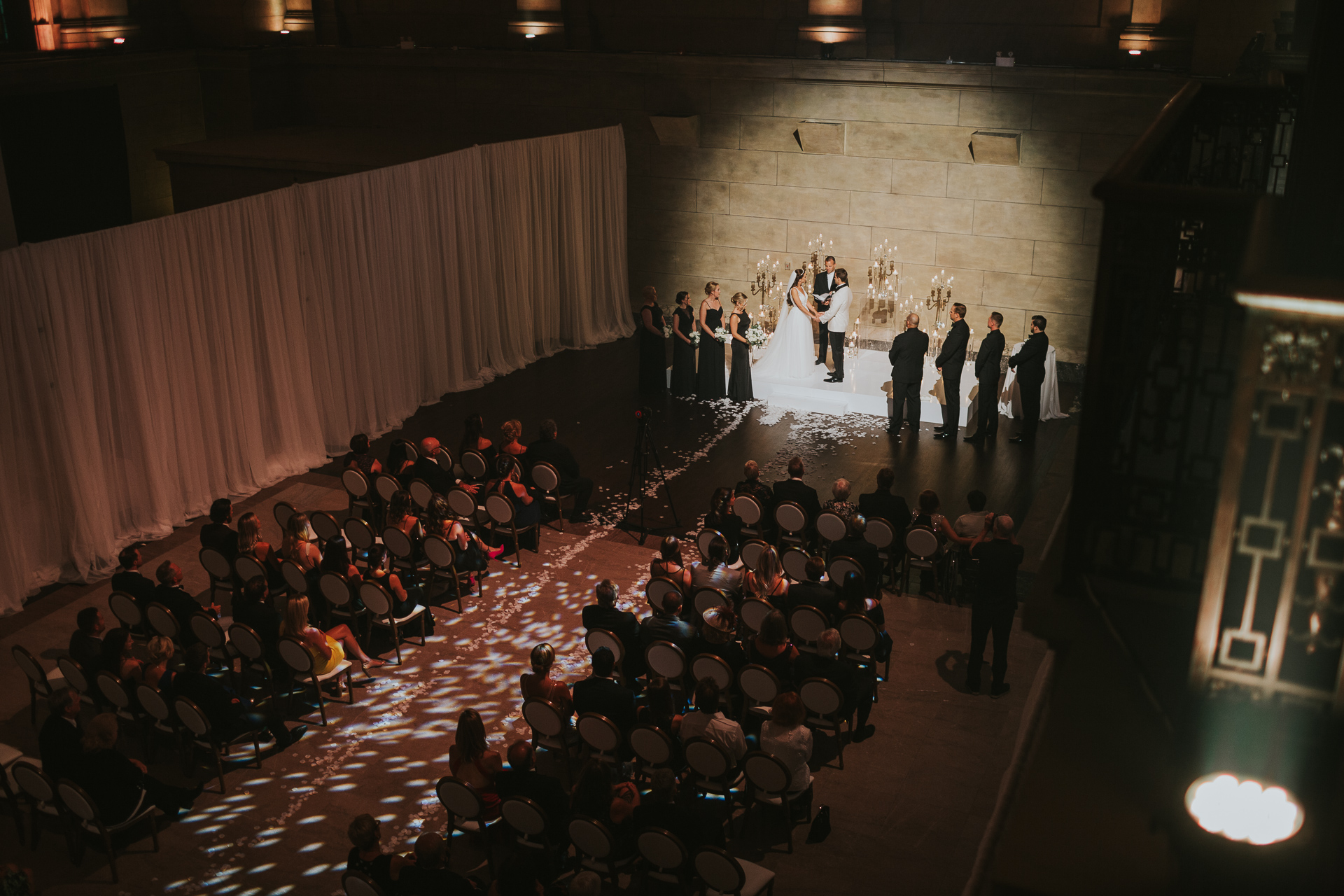 Theatre St James Montreal Toast Events Wedding