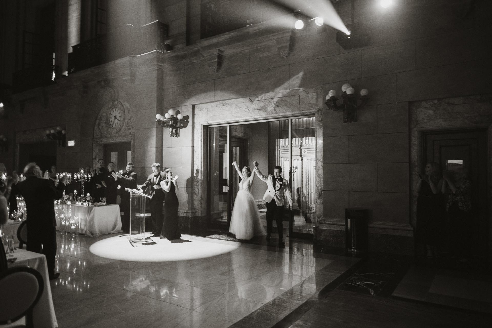 Theatre St James Montreal Toast Events Wedding