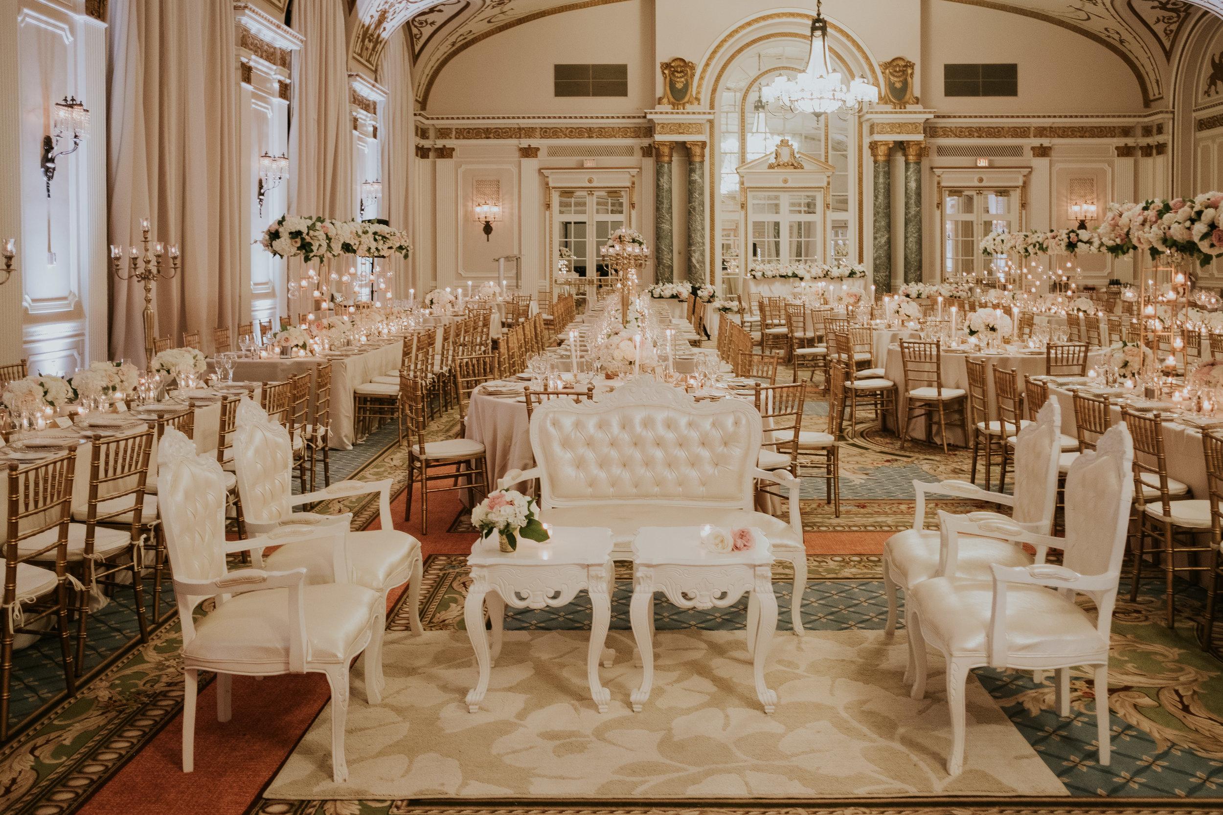 Komal Minhas Wedding Chateau Laurier, Toast Events, reception, ballroom