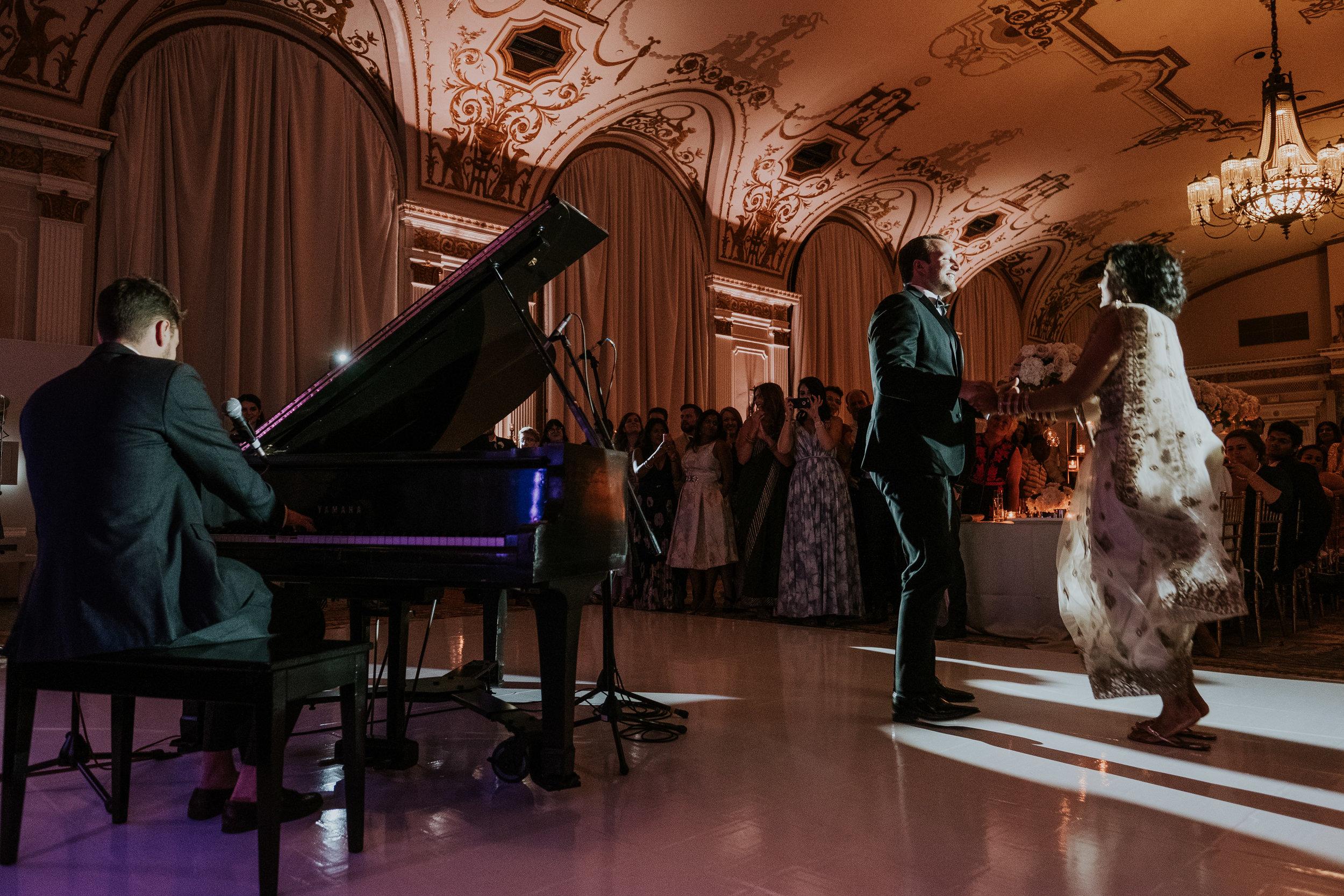 Komal Minhas Wedding Chateau Laurier, Toast Events, Tim Baker Performance