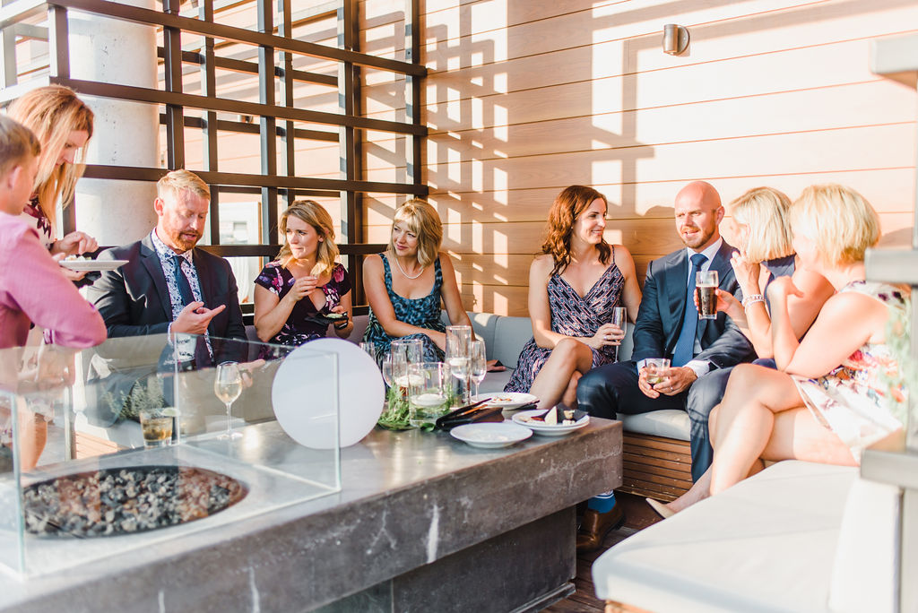 Andaz Wedding Roof Top Toast Events Wedding Planning