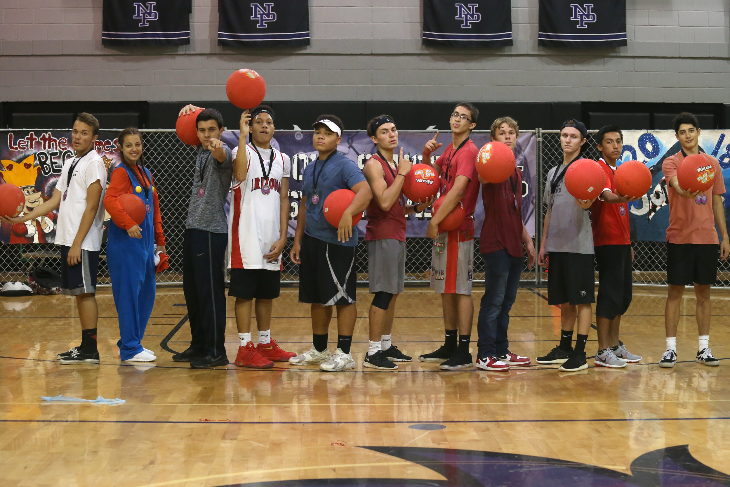 Seniors win Dodgeball Competition