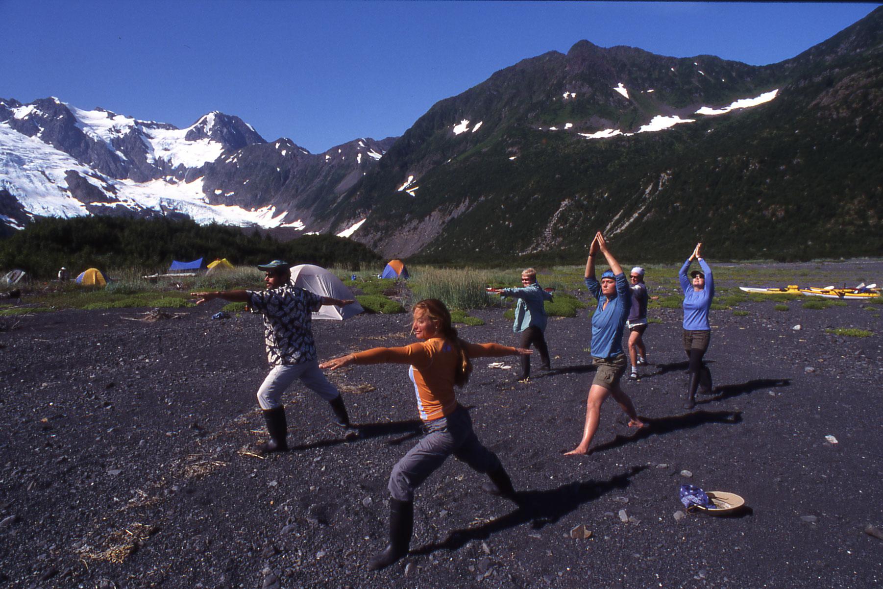 Alaska Kayak Camping
