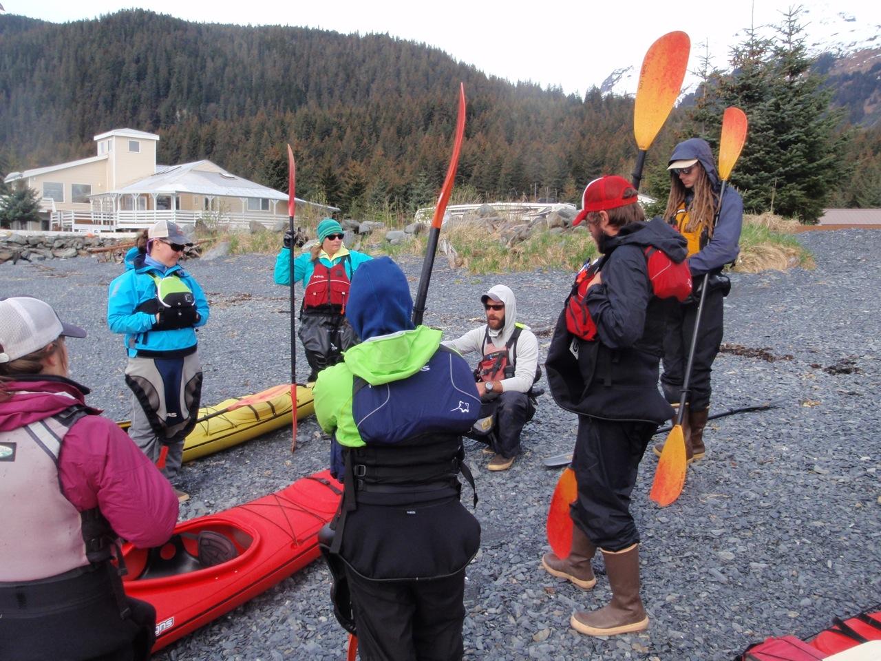 sea kayaking alaska