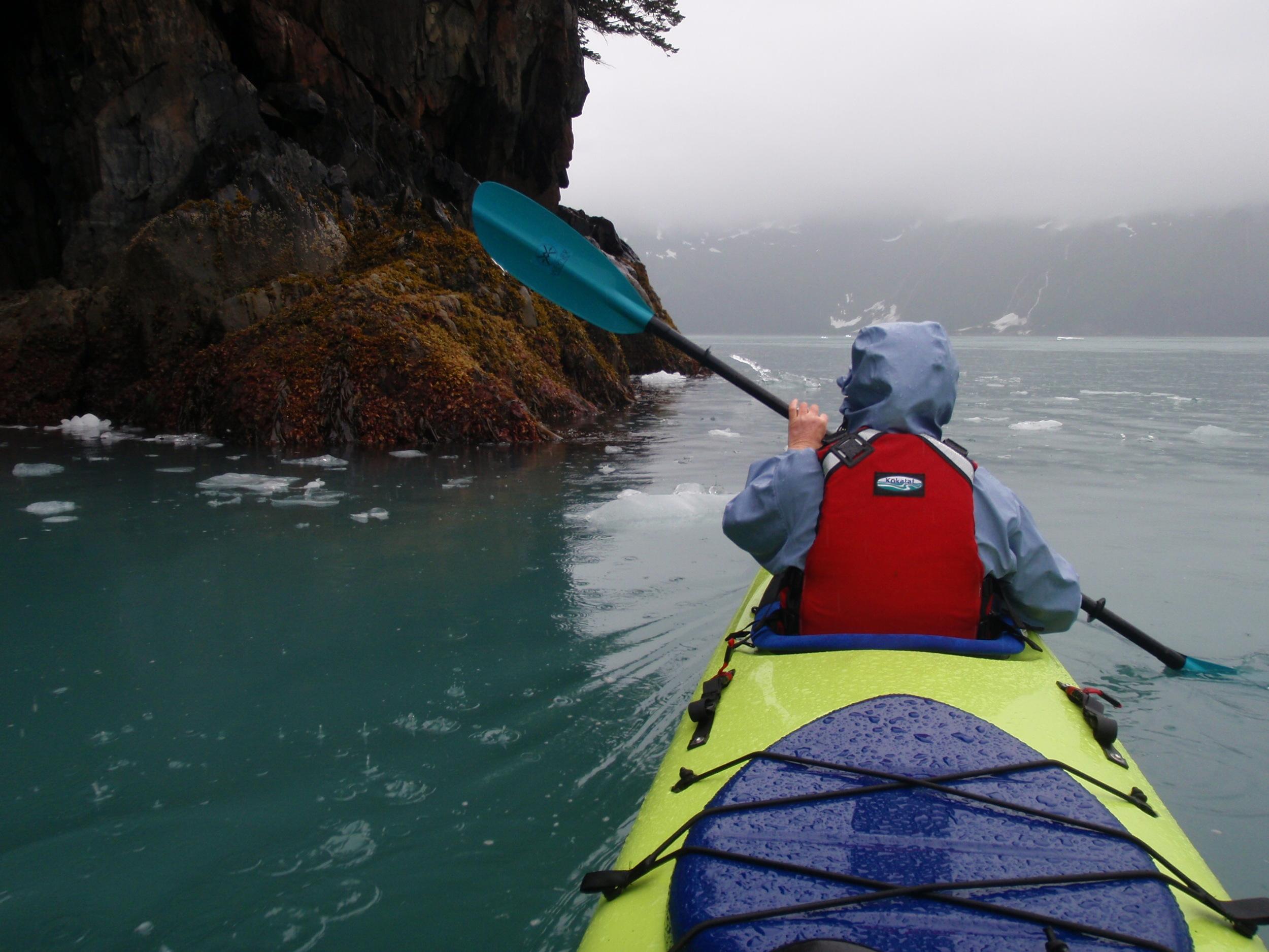 kenai fjords kayak camping