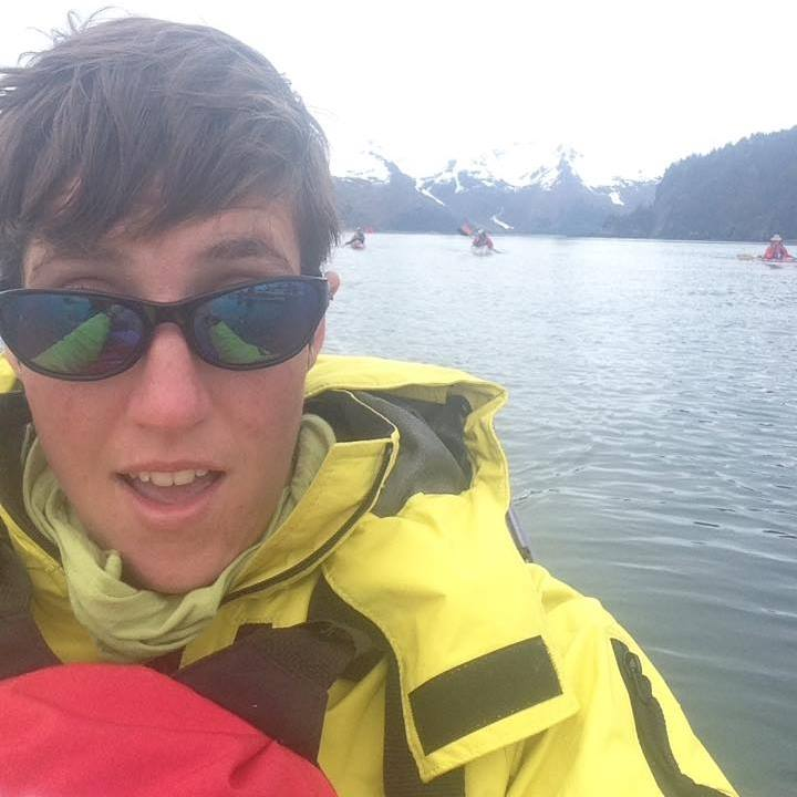 Kelly's initials are K.S. It really stands for Kayak Selfie.