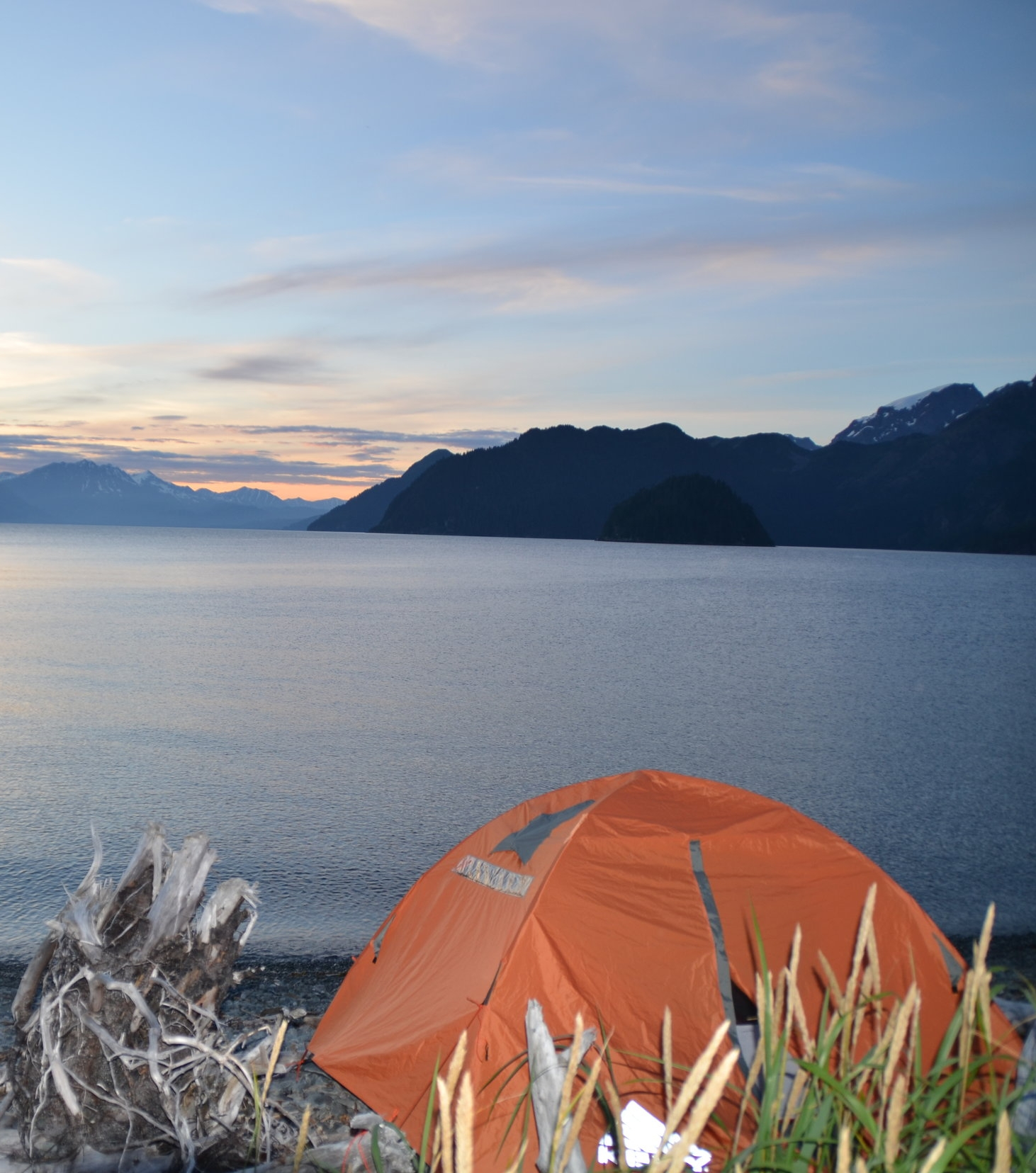 Resurrection Bay Sea Kayak Camping Tours, Seward, Alaska