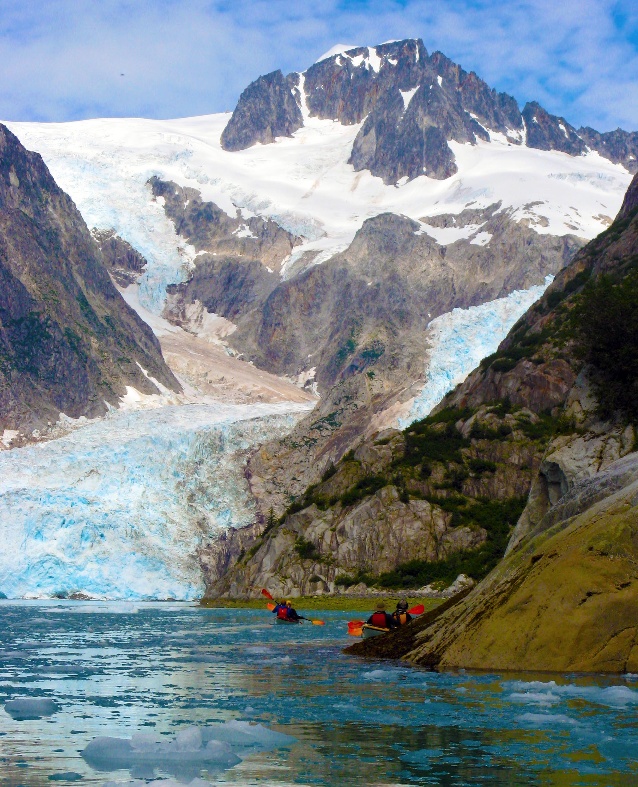 Sea Kayaking Camping Seward, Alaska Kenai Fjords National Park