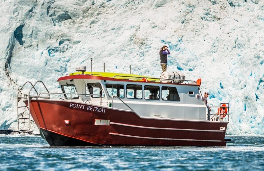 Grand Day Wildlife Cruise & Glacier Kayak Tour