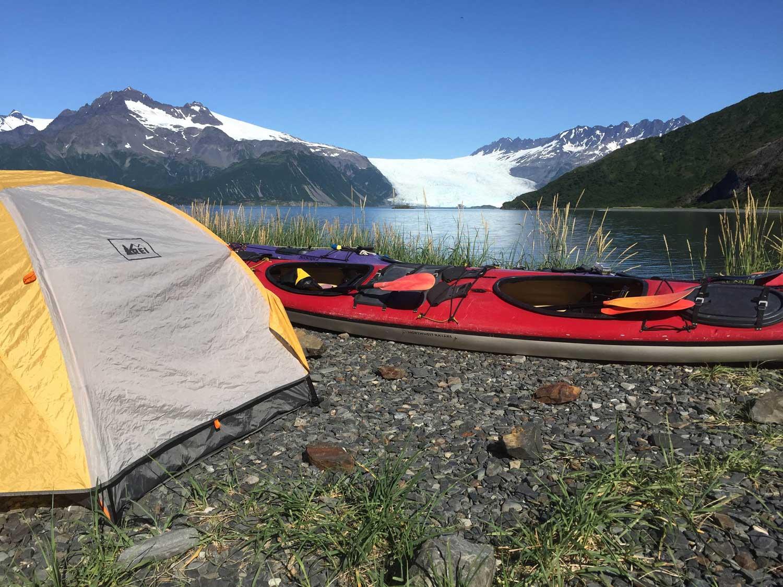 Kayak Camp Seward Alaska