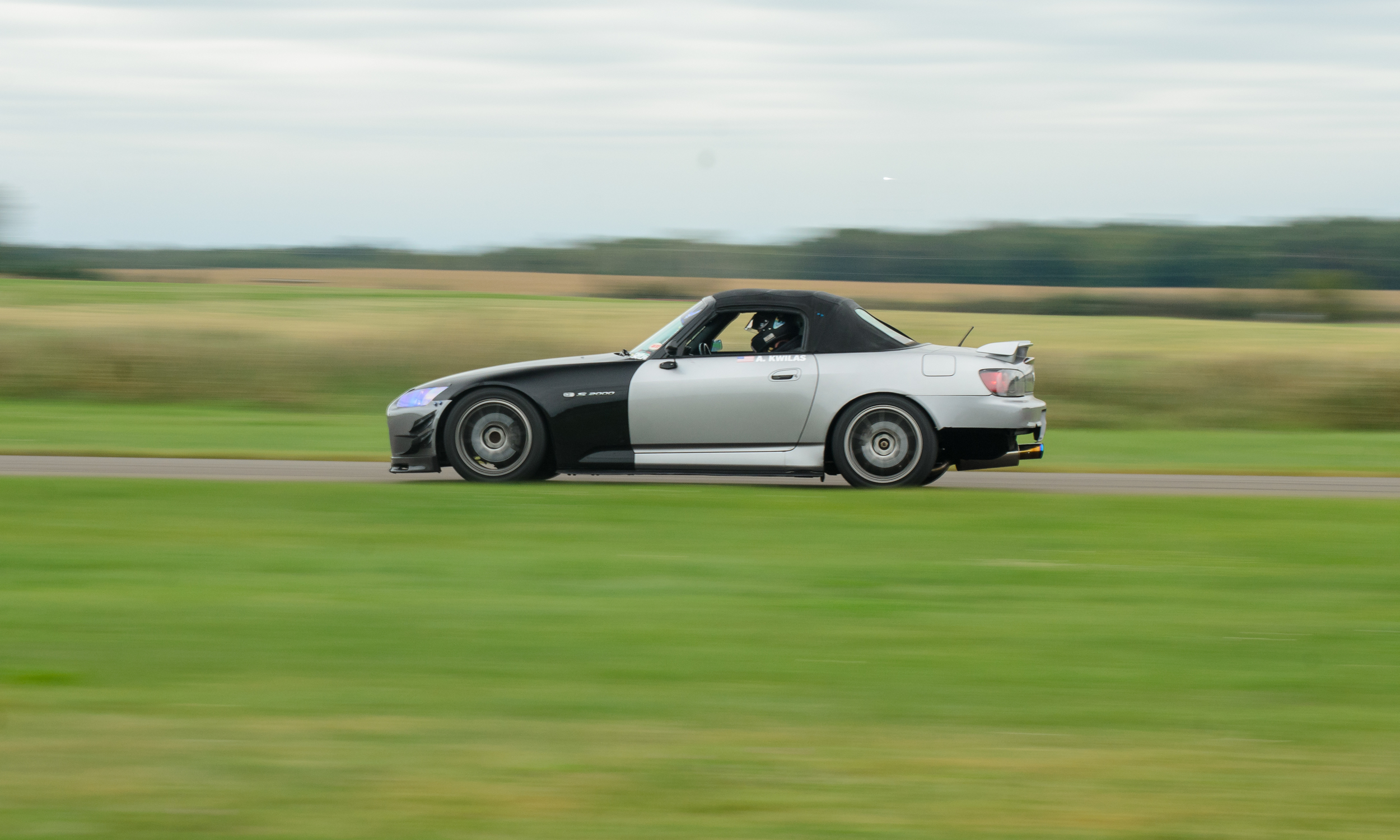 "Lacy Sports  will be bringing their CR converted S2000 to play in HPDE plus. Since HPDE plus doesn't allow aftermarket aero, Aaron decided to convert his S2000 to a ""Club Racer""  S2000. Since That particular model was put into production it makes Lacy Sport""s aerodynamics legal for HPDE plus."