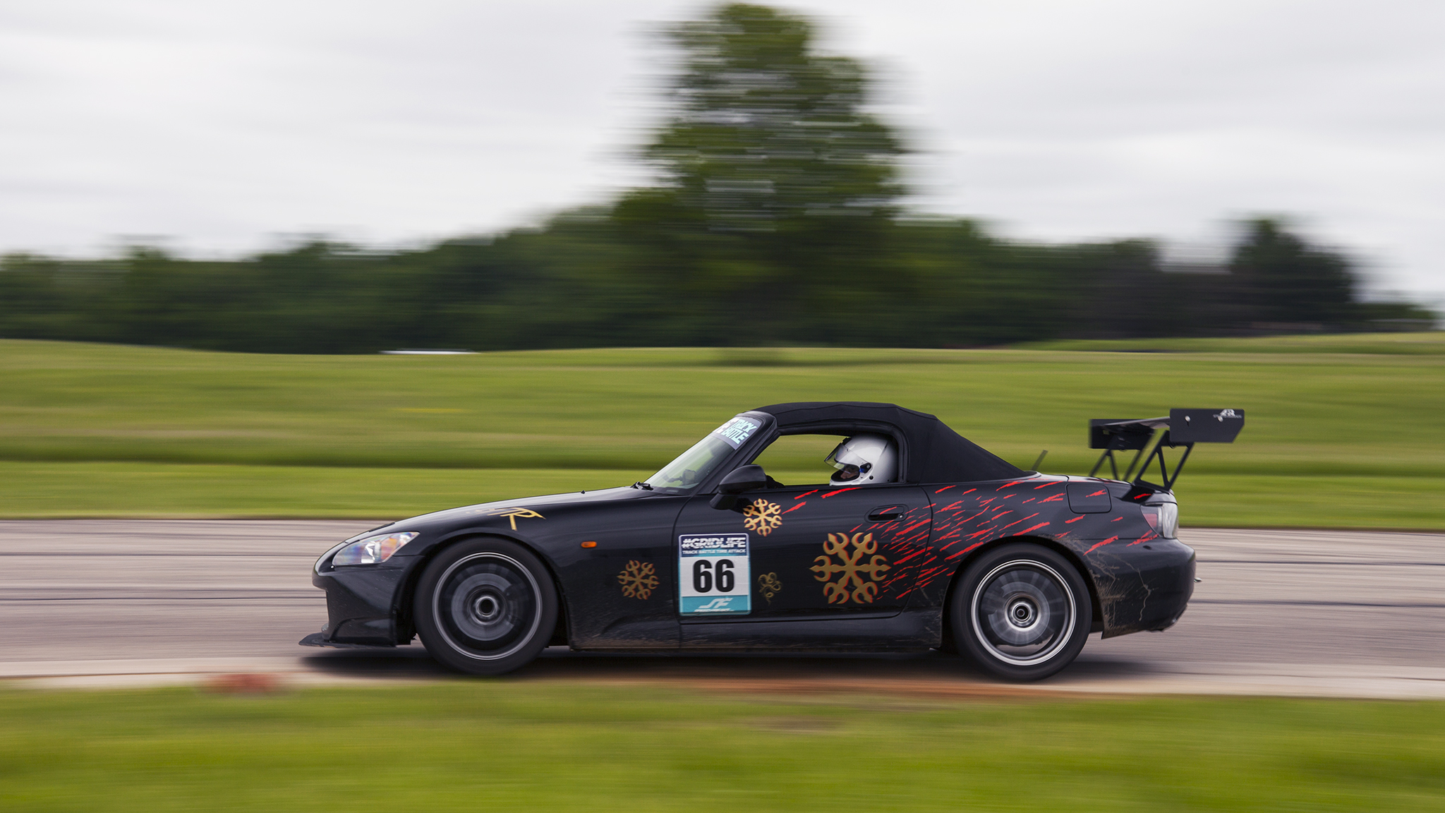 Twerk Team Racing  has a couple S2000's competing in street tire class. We look forward to seeing the friendly battles.