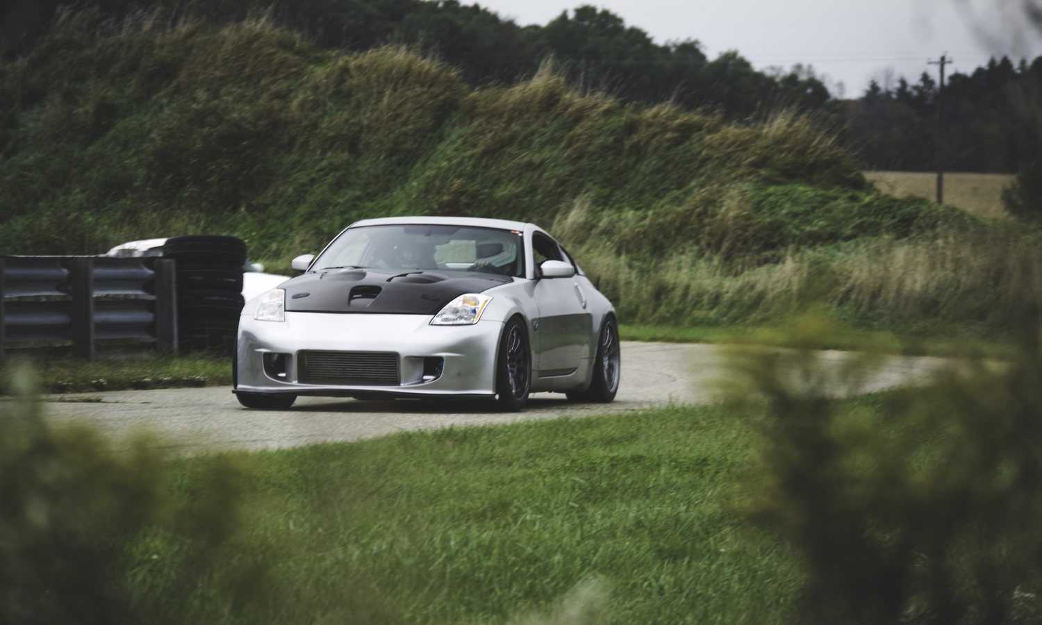 Joshua's Turbo 350Z is just that. A tracked turbo 350Z, those words alone make you want to pay attention to what times this car can put down.
