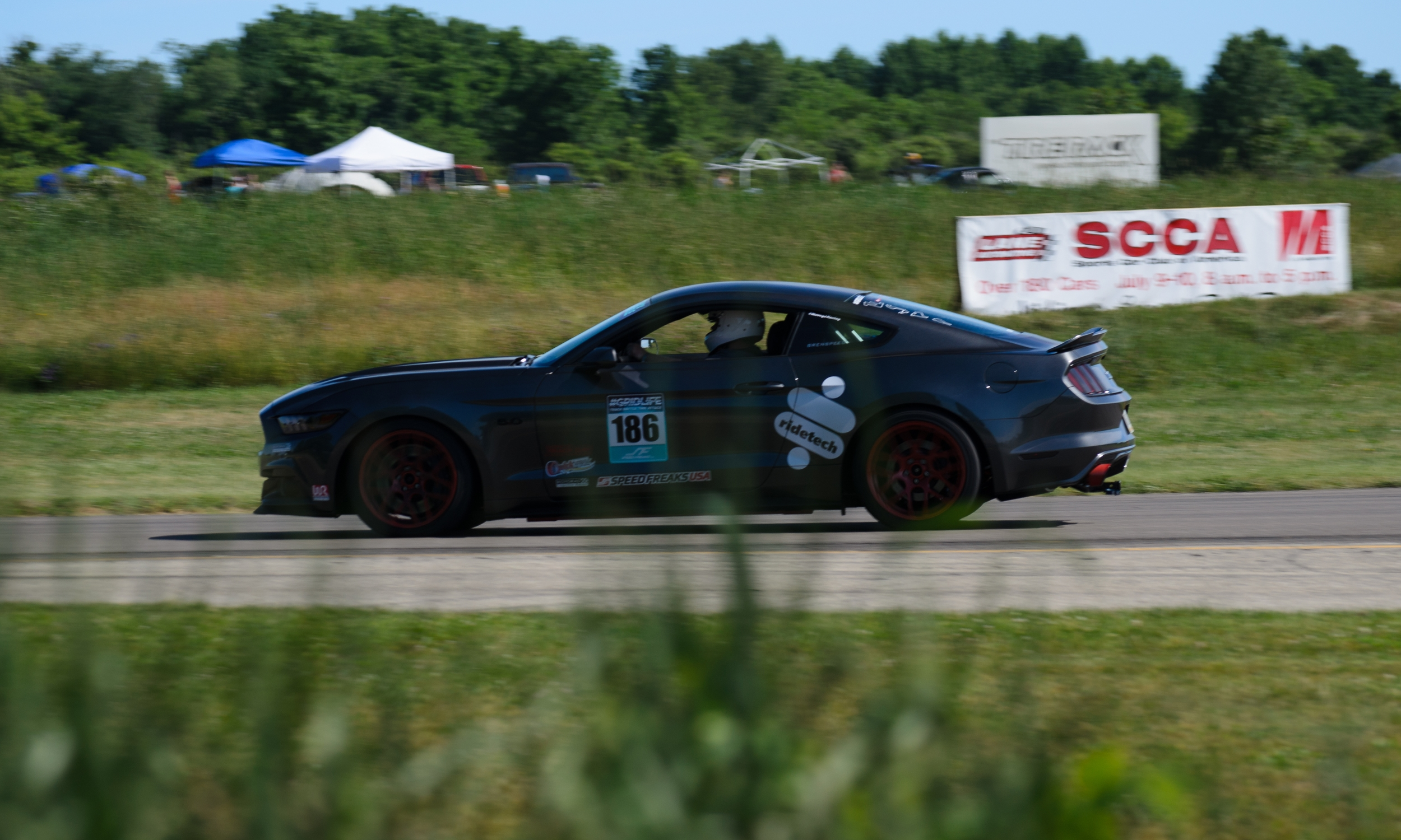 Eric Dominated the field by almost a full second in his prepped Mustang. It was great to see all those eagles fly during Timeattack. Official Time: 1:43.976