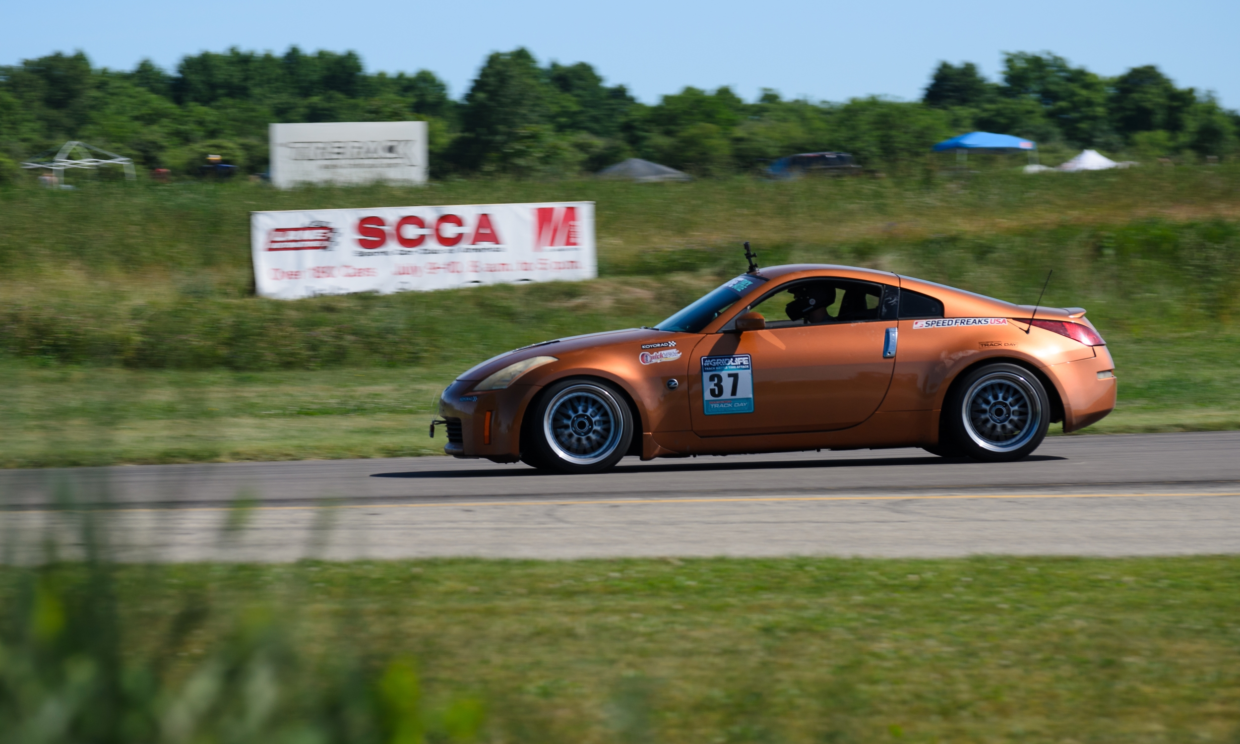 Alex in his clean 350Z put down a respectable time of 1.44.840, which if this was last season's Round 1 would have put him in First. Look forward to seeing more of this car and driver.