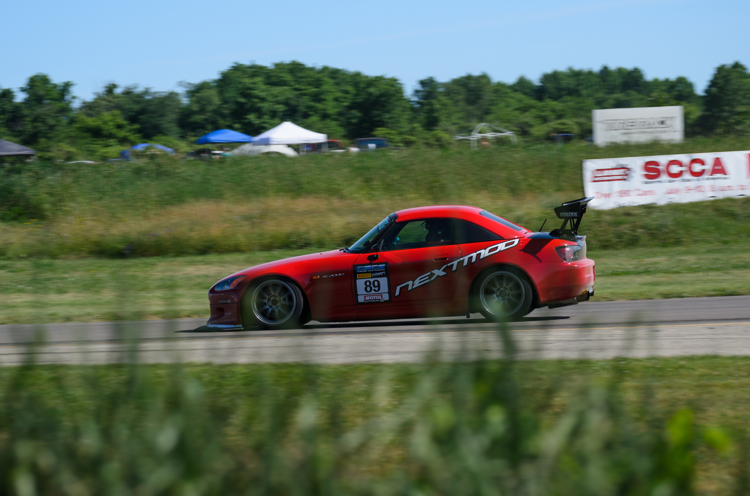 Nextmod's  S2000 came down from Canada and ran with in 1 second from the Gingerman N/A, Street Tire S2000 record. That's beyond impressive. Sadly they missed first place in Street RWD by one tenth. Official time of 1:41.959