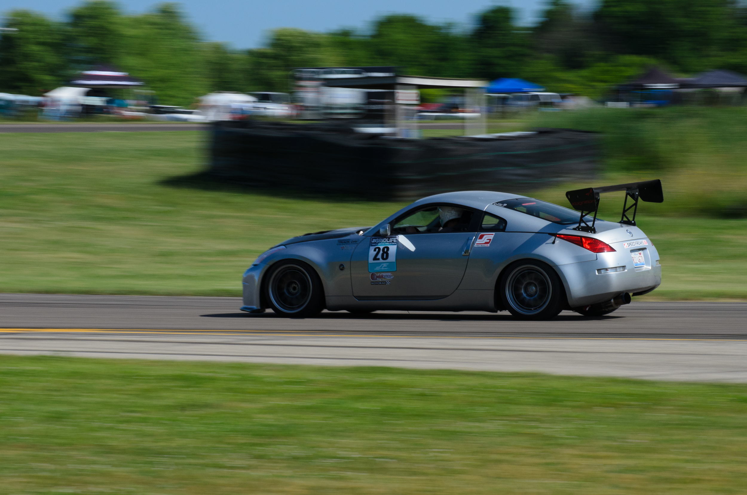 Josh rounds up our top 5 with an impressive time of 1:42.257 in his turbocharged 350Z. Its all in the wing, We keep telling you guys this!