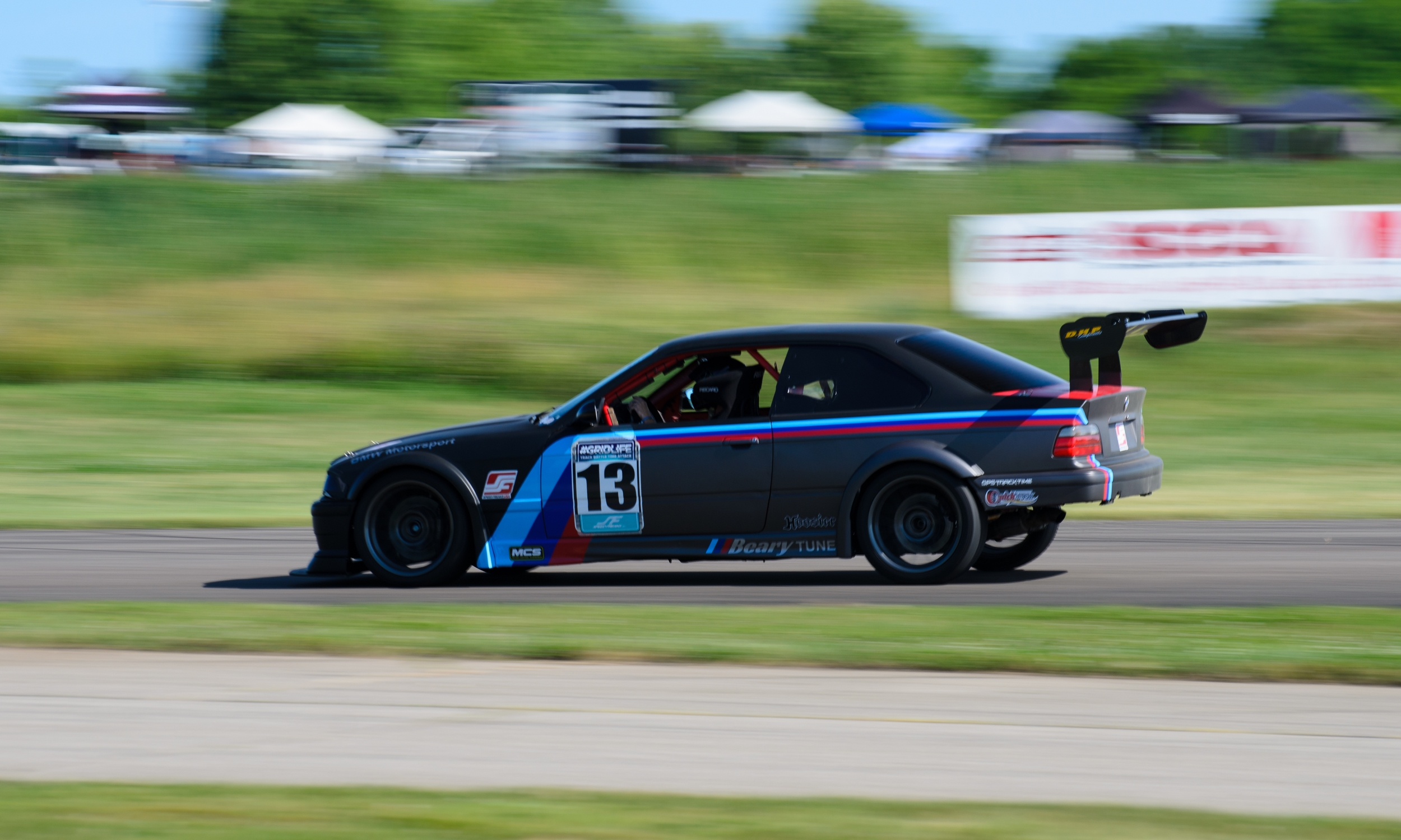 Ryan and his NASA ST3 prepared M3 showed what a wheel to wheel car can do in timeattack. Putting down a respectable time of 1:38.261 taking home first in Track Mod RWD.
