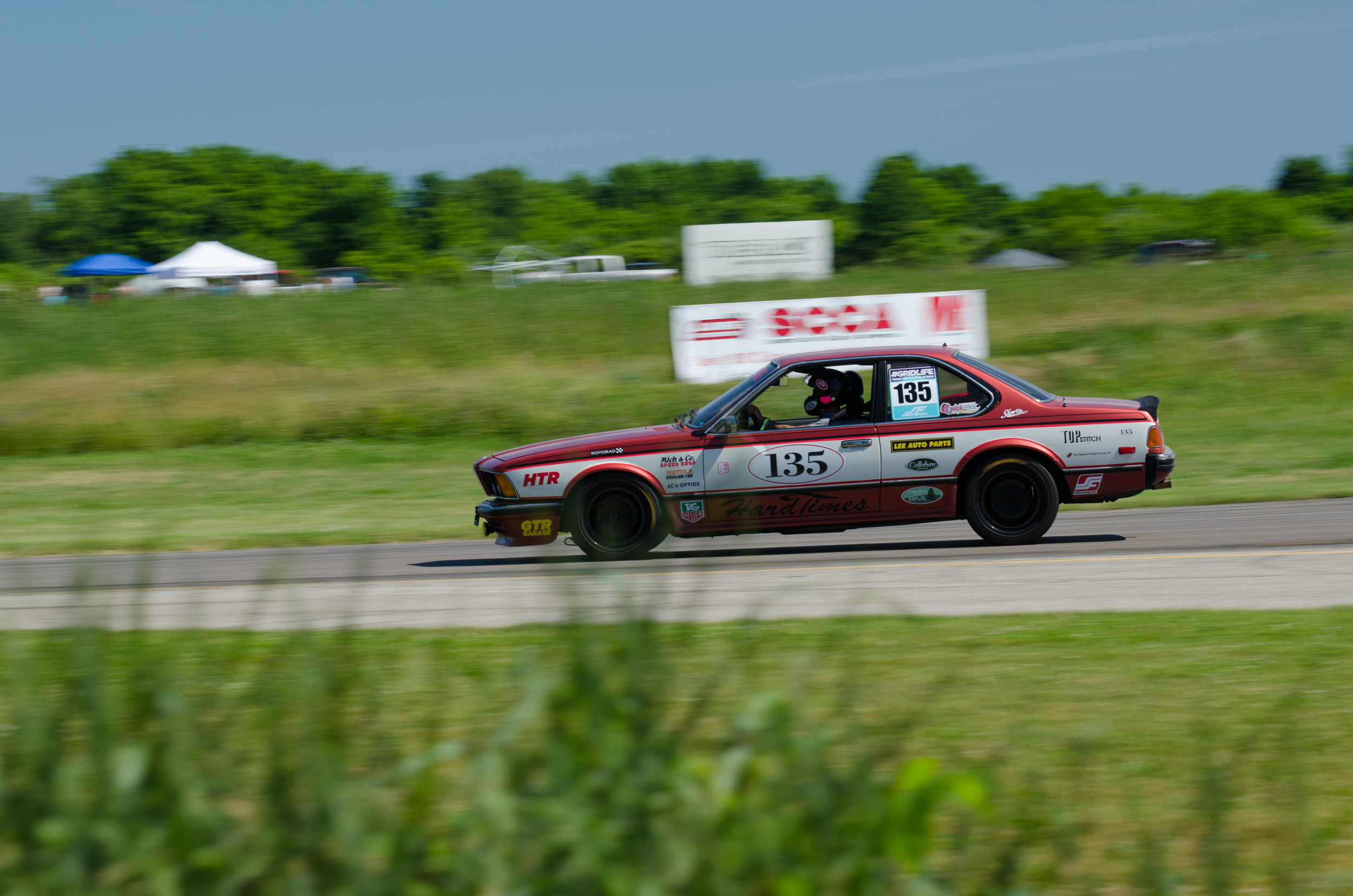 Charle's and his pretty awesome BMW. Official time 1:55.780