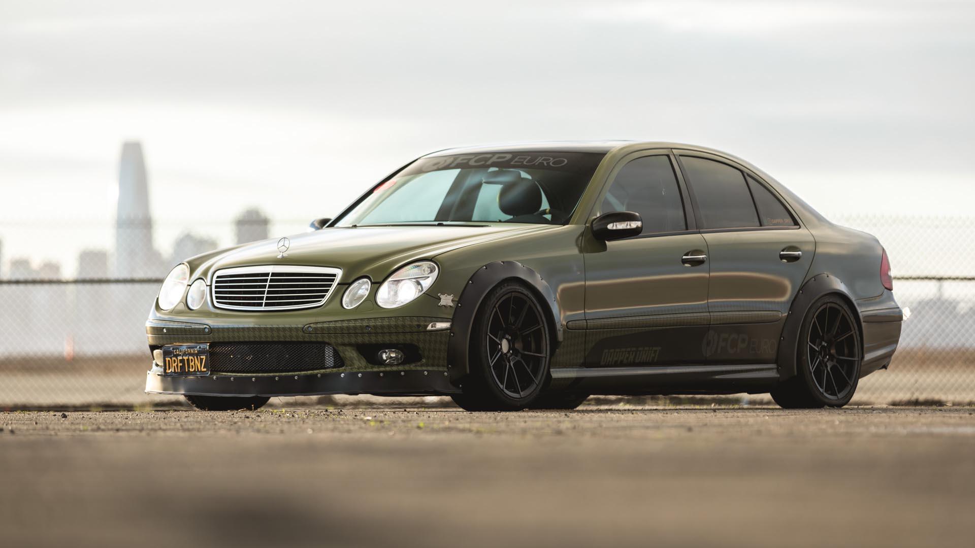 "FCP Euro ""   Dapper Drift   "" Mercedes-Benz E55 AMG"