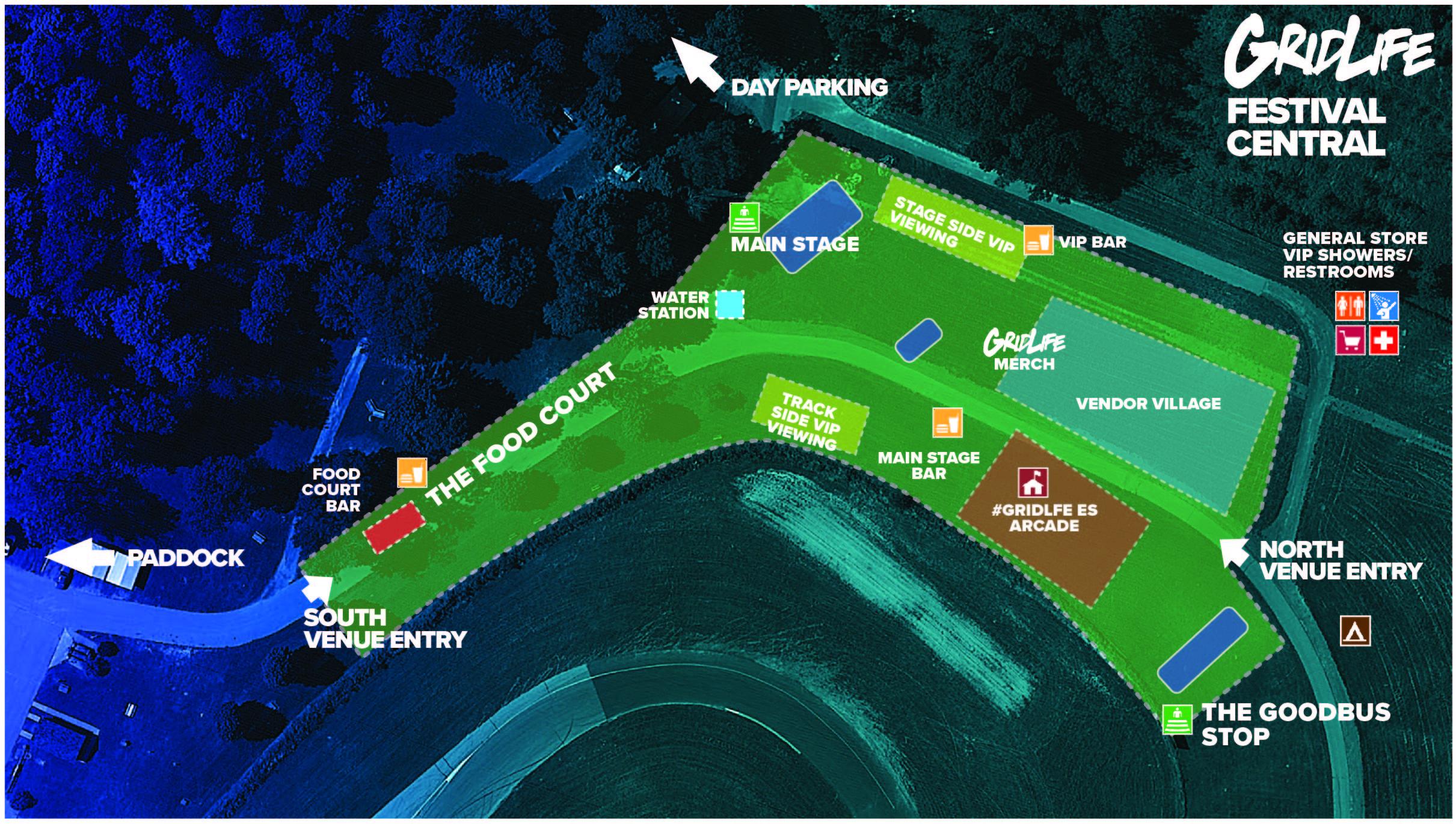 FESTIVAL CENTRAL MAP
