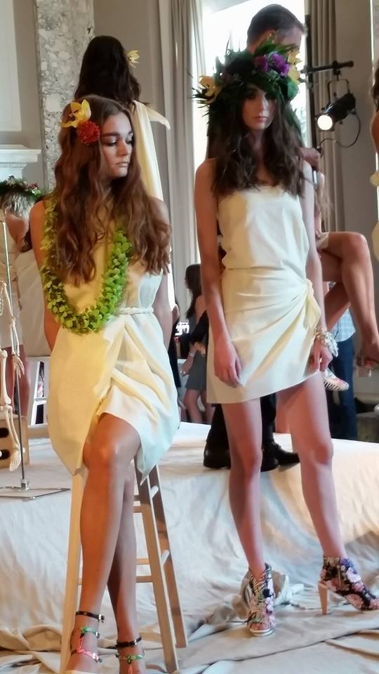 Arden Wohl is the designer of Vegan-based accessories including these fabulous shoes at NYFW. Awesome set to work on!