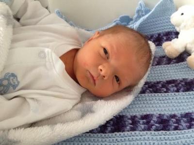 Baby Ben at 3 days old