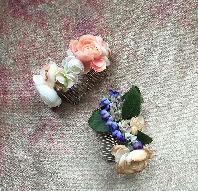 Stone Fox Bride: Veil and Hairpiece designer