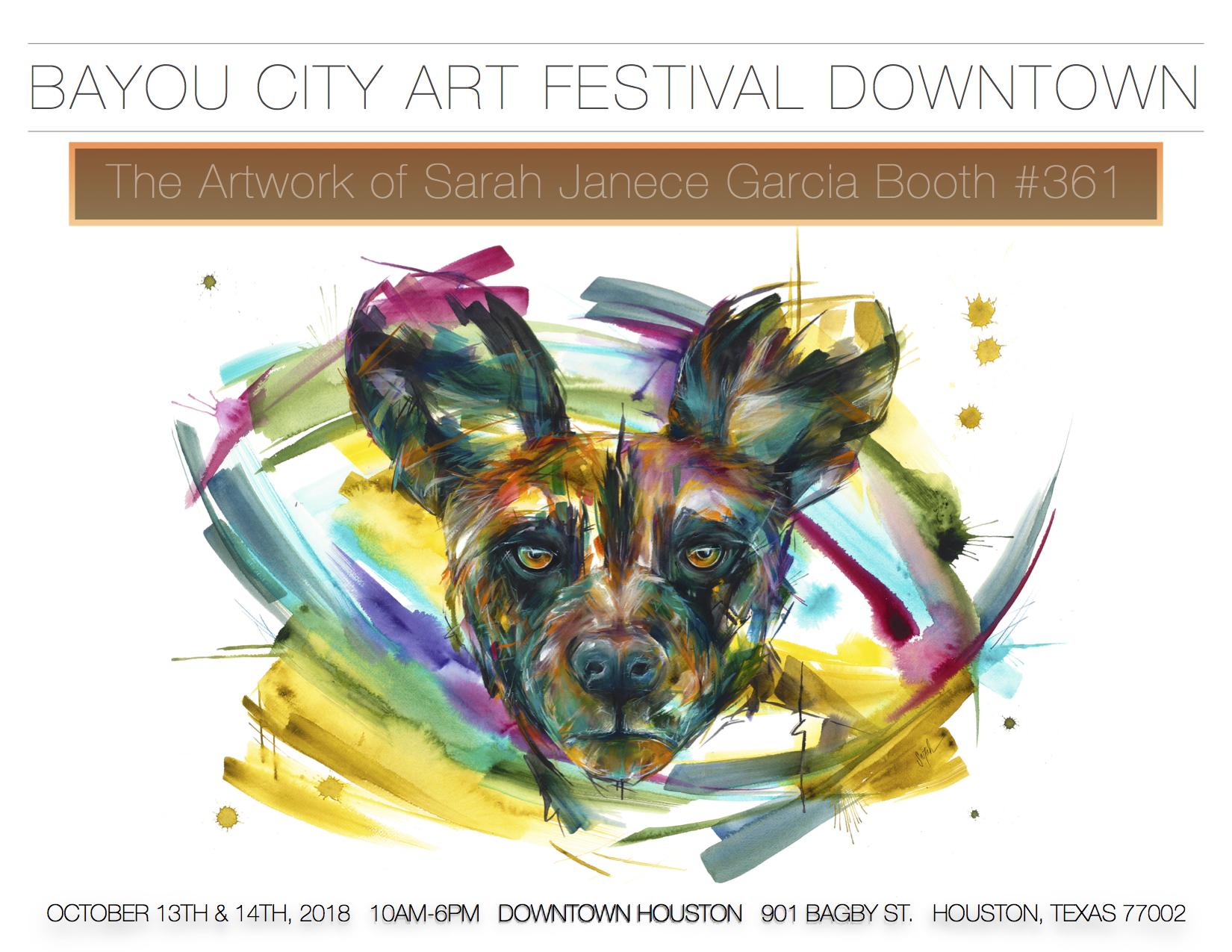 Bayou City Art Festival in Downtown Houston — Sarah Janece