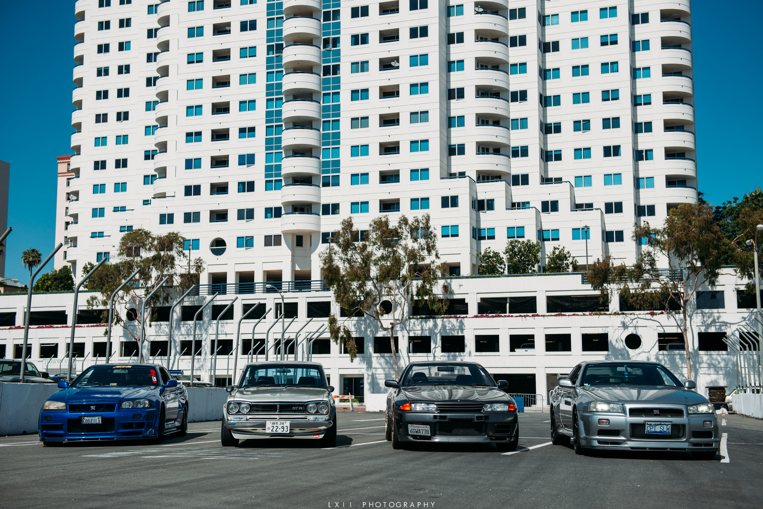 Skylines in Long Beach