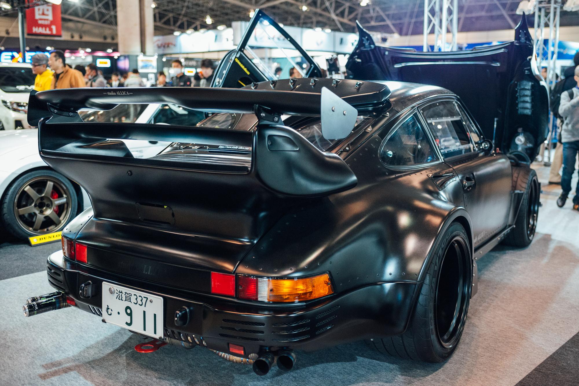Studio Allica's 911 at Tokyo Auto Salon