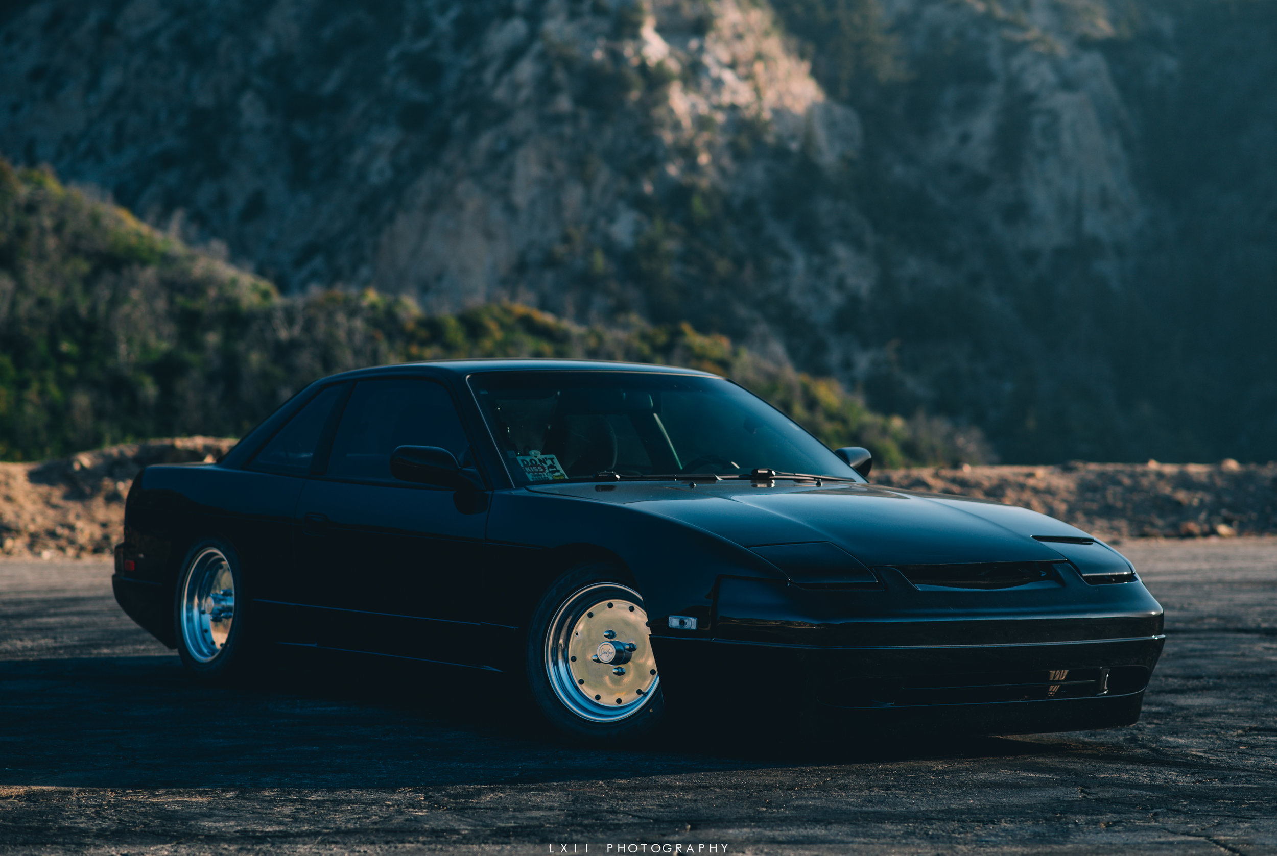 James' S13 on Angeles Crest Highway