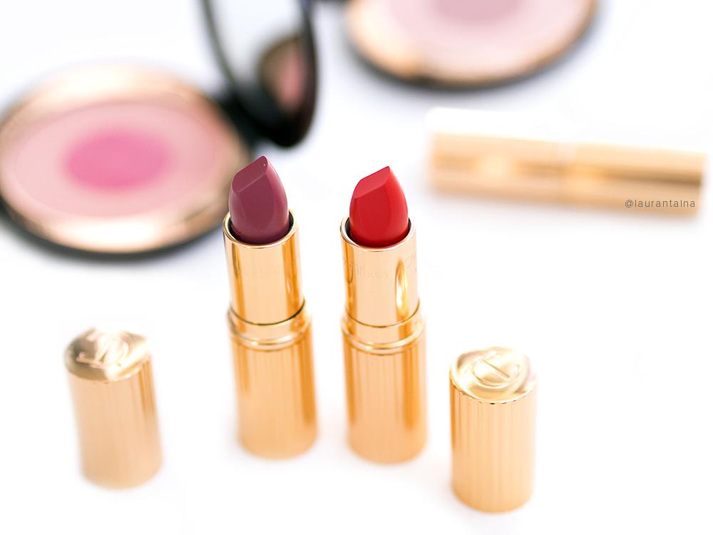 Charlotte Tilbury new Hot Lips Secret Salma and Tell Laura