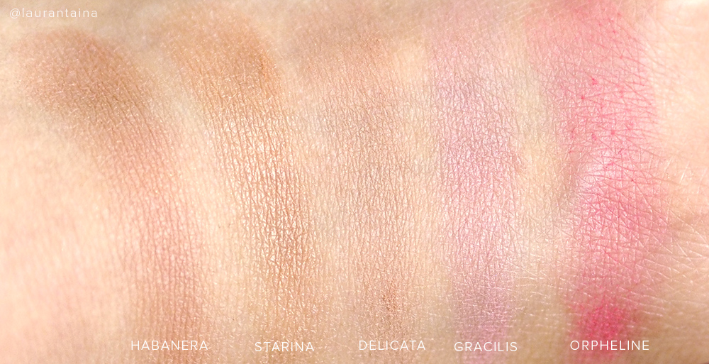 Rouge Bunny Rouge blush swatches