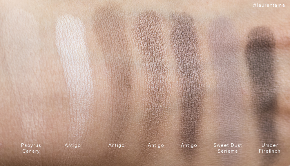 Rouge Bunny Rouge Antigo swatches comparison