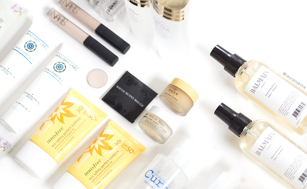 Backup beauty items