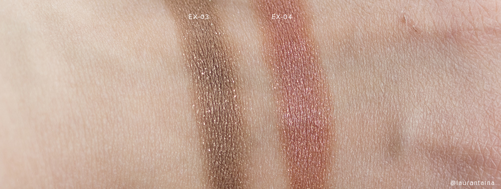 SUQQU Deep Nuance Eyes swatches