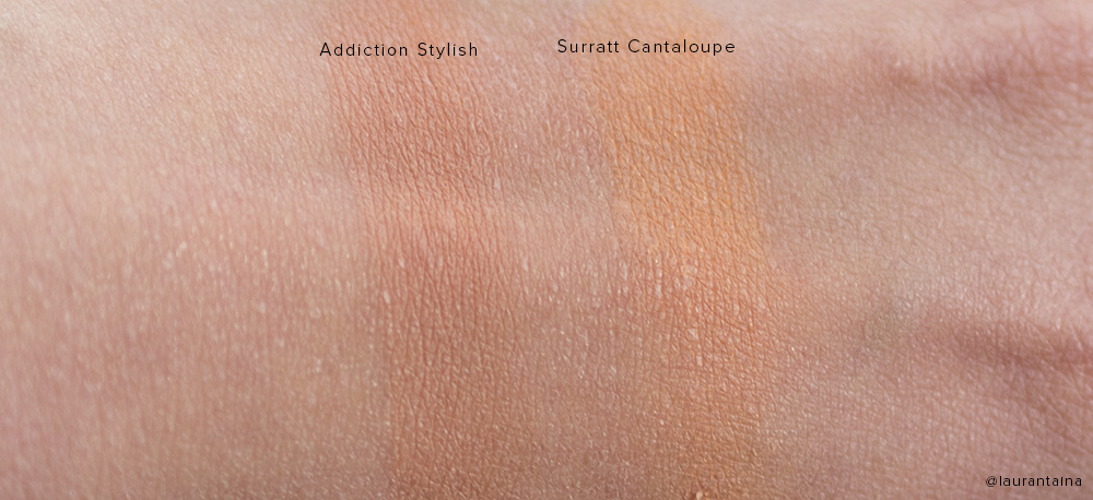 Addiction by Ayako blush swatches