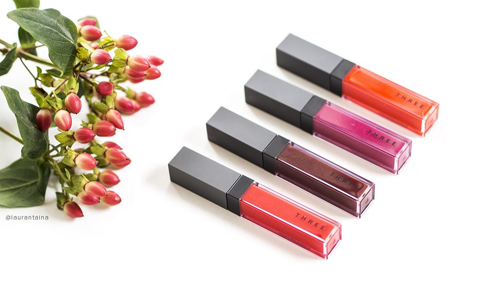THREE Shimmering Lip Jams