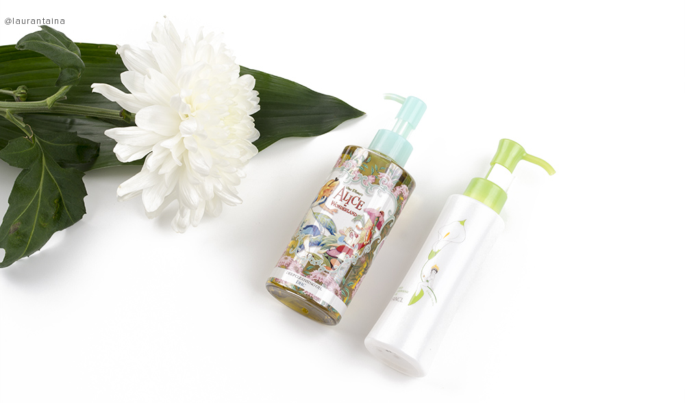 DHC and FANCL cleansing oils